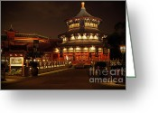 Showcase Greeting Cards - World Showcase - China Pavillion Greeting Card by AK Photography