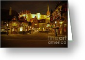Showcase Greeting Cards - World Showcase - Germany Pavillion Greeting Card by AK Photography