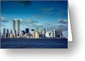 Highsmith Greeting Cards - World Trade Center Greeting Card by Carol M Highsmith