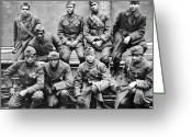 Regiment Greeting Cards - World War I: Black Troops Greeting Card by Granger