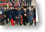 Amputee Greeting Cards - World War I: Veterans Greeting Card by Granger
