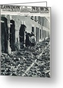 New Britain Greeting Cards - World War Ii: Blitz, 1940 Greeting Card by Granger
