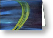 Gregory Allen Page Greeting Cards - Wormhole Greeting Card by Gregory Allen Page