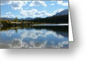 Rocky Mountain National Park Greeting Cards Greeting Cards - Worth the climb Greeting Card by Debbie Poetsch
