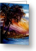 Diamond Head Greeting Cards - Worth The Wait Greeting Card by Lil Taylor