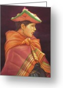 Incas Greeting Cards - WS1979BO006Potosi Nicolaza 14x20 Greeting Card by Alfredo Da Silva
