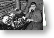Second Photo Greeting Cards - Ww2 Artillery Detection Equipment, 1944 Greeting Card by Ria Novosti