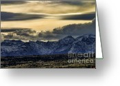 Chuck Kuhn Photography Greeting Cards - Wyoming II Greeting Card by Chuck Kuhn