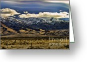 Chuck Kuhn Photography Greeting Cards - Wyoming IV Greeting Card by Chuck Kuhn