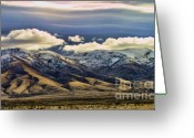 Chuck Kuhn Photography Greeting Cards - Wyoming VI Greeting Card by Chuck Kuhn