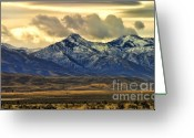 Chuck Kuhn Photography Greeting Cards - Wyoming VII Greeting Card by Chuck Kuhn