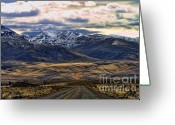 Chuck Kuhn Photography Greeting Cards - Wyoming VIII Greeting Card by Chuck Kuhn