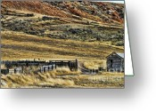 Chuck Kuhn Photography Greeting Cards - Wyoming X Greeting Card by Chuck Kuhn