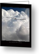 Military Artwork Greeting Cards - XB-70 Valkyrie Greeting Card by Larry McManus