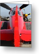 Yak Greeting Cards - Yak 9U Airplane . 7d15803 Greeting Card by Wingsdomain Art and Photography