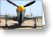 Yak Greeting Cards - Yak 9U Airplane . 7d15804 Greeting Card by Wingsdomain Art and Photography