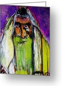 Orthodox Rabbi Greeting Cards - Yakov Greeting Card by Joyce Goldin