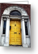 Eire Greeting Cards - Yellow 40 Greeting Card by John Rizzuto