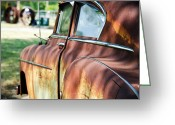 Old Relics Greeting Cards - Yesterdays Point of View Greeting Card by Lisa Moore