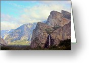 Physical Geography Greeting Cards - Yosemite National Park Greeting Card by Luiz Felipe Castro