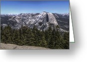 Reno Gregory Greeting Cards - Yosemite Panoramic Greeting Card by Reno Gregory