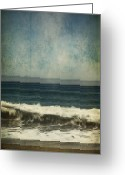 Crashing Waves Greeting Cards - You Stole My Heart and Never Gave it Back Greeting Card by Laurie Search