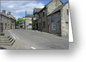 Uk Greeting Cards - Youlgrave - Derbyshire Greeting Card by Rod Johnson