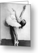 Number 12 Greeting Cards - Young Ballerina Greeting Card by Fpg