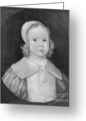 Head Of State Greeting Cards - Young Oliver Cromwell Greeting Card by Photo Researchers