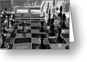 Chess Pieces Greeting Cards - Your Move Greeting Card by David Lee Thompson
