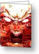Bad Dream Greeting Cards - Your Worst Nightmare Greeting Card by Anthony Caruso
