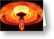 Carnie Greeting Cards - Yoyo Greeting Card by Gordon Dean II