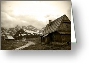 Mountain Summit Greeting Cards - Zakopane Mountains 01 Greeting Card by Kamil Swiatek
