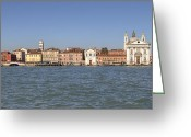 Dominican Greeting Cards - Zattere - Venice Greeting Card by Joana Kruse