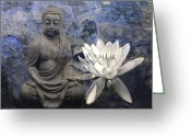 Philosophy Greeting Cards - Zen Greeting Card by Joachim G Pinkawa