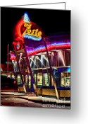 Photographers  Tallapoosa Greeting Cards - Zestos Greeting Card by Corky Willis Atlanta Photography