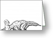 Addison Greeting Cards - Zuniceratops Greeting Card by Karl Addison
