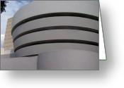 Guggenheim Museum Greeting Cards - Guggenheim Greeting Card by Vijay Sharon Govender