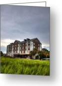 Historic Lighthouse Greeting Cards - Historic Rice Mill Building Greeting Card by Dustin K Ryan