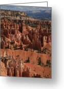 Spires Greeting Cards - Hoo Doos Greeting Card by Timothy Johnson