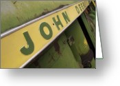 John Deere Greeting Cards - John Deere Greeting Card by Jeff Ball