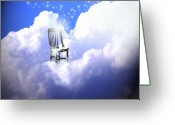 Judgement Day Greeting Cards - Judgement  Greeting Card by Cathy  Beharriell