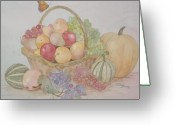 Melon Greeting Cards - Lifes A Banquet Greeting Card by Patti Lennox