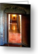 Convent Greeting Cards - Looking Toward the Virgin of Guadalupe Greeting Card by Olden Mexico