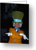 Mad Hatter Photo Greeting Cards - Mad Hatter Greeting Card by Carl Purcell