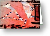 Select Greeting Cards - Madrid mosaic.. Greeting Card by Al  Swasey