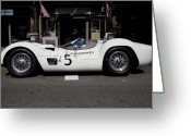 Transportation Greeting Cards - Maserati Camoradi Greeting Card by Wingsdomain Art and Photography