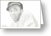 Mos Def Greeting Cards - Mos Def Greeting Card by Brad Coleman