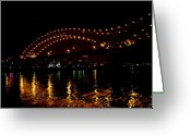 Mississippi River Scene Greeting Cards - My Memphis Greeting Card by Bob Guthridge