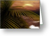 3d Digital Art Greeting Cards - Night Moves Greeting Card by Richard Rizzo